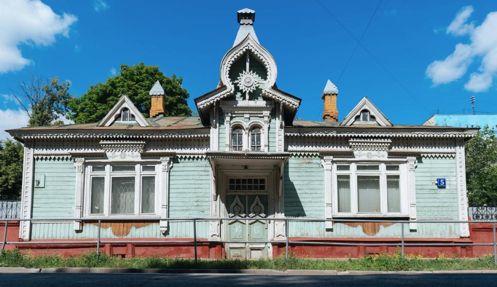 rumah klasik di Rusia